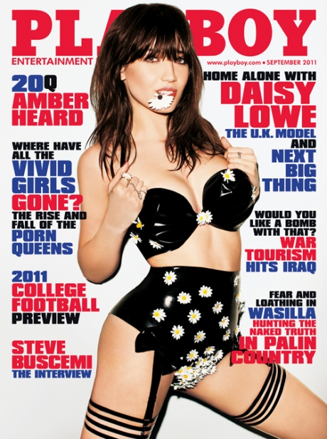 Daisy Lowe Naked for Playboy...
